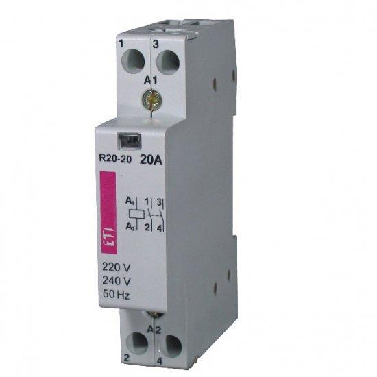 Модулен контактор 2p 1M R20-11 24 V NO/NC