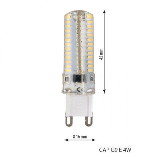 Led лампа G9 E 4W 4500K