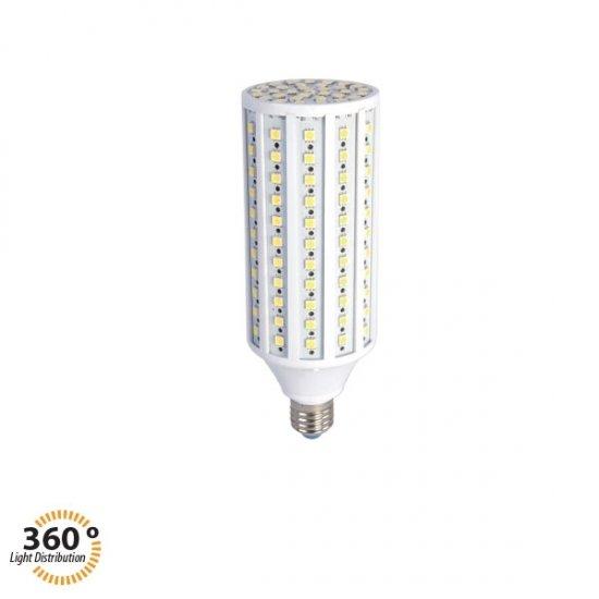 LED крушка Corn 30W E27 4500K 3000Lm 360°
