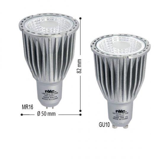 Led Лампа 7W GU10 4500K