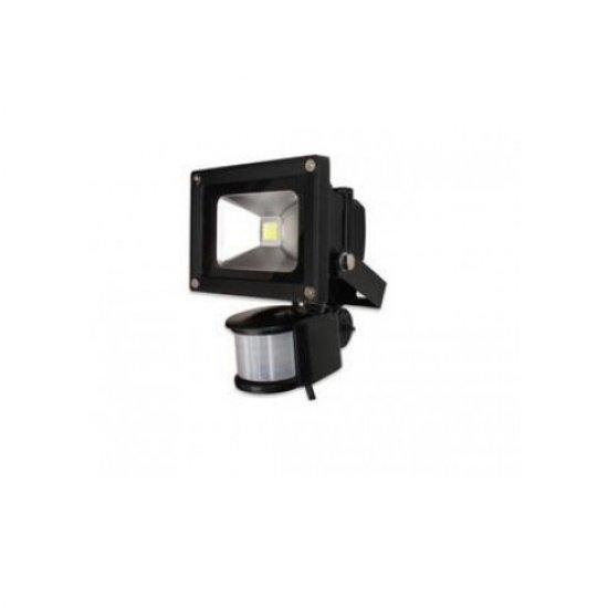 LED прожектор 10W със сензор за движение 6500К IP65