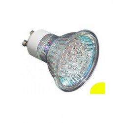 LED крушка GU10 жълта