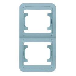 Двойна вертикална рамка металик