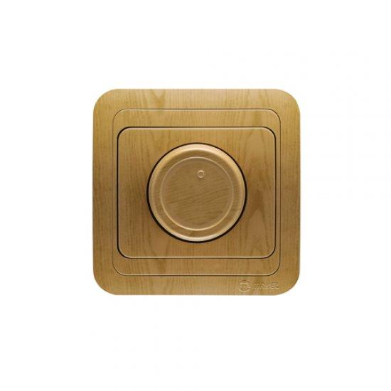 Ключ регулатор (димер) 600W дъб