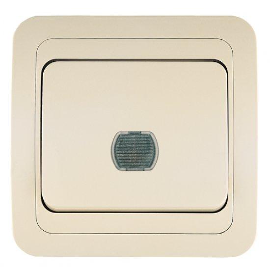 Регулатор (димер) 400W с дистанционно управление крем