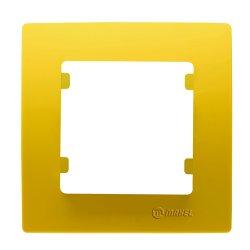 Единична рамка жълта