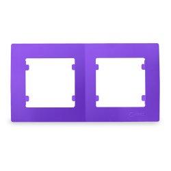 Двойна хоризонтална рамка тъмно лилава