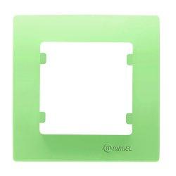 Единична рамка зелена