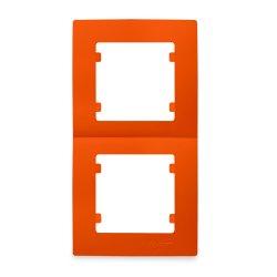 Двойна вертикална рамка оранжева