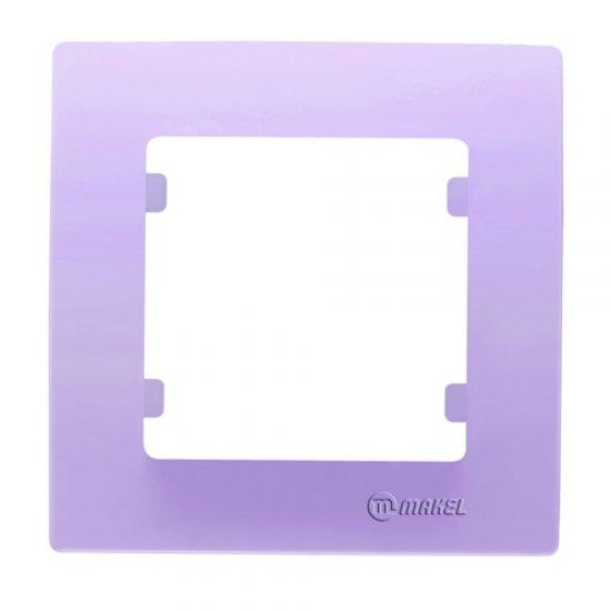 Единична рамка светло лилава