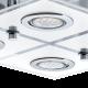 LED плафониера CABO 4хGU10 4x3W 3000K 4x240Lm IP20 хром
