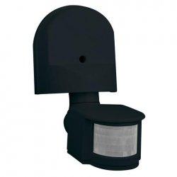 Сензор за движение 180° черен IP44