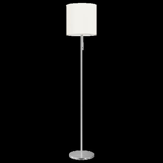 Лампион SENDO E27 max 60W IP20 мат хром + ключ с шнур
