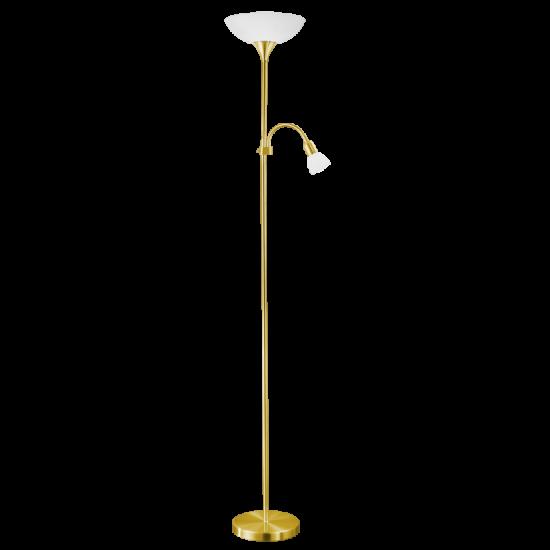 Лампион UP2 1xE27 max 60W + 1xE14 max 25W IP20 мат злато