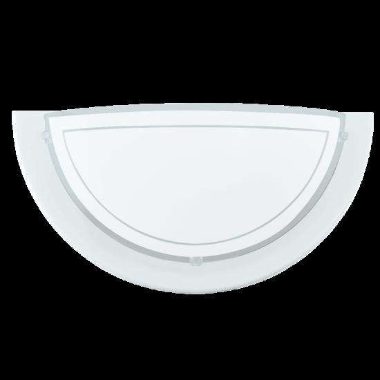 Аплик PLANET1 E27 1x60W бял