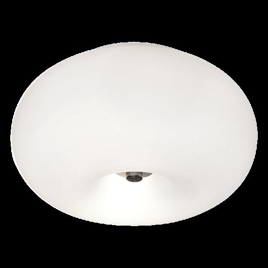 Плафониера OPTICA Е27 2x60W бяла