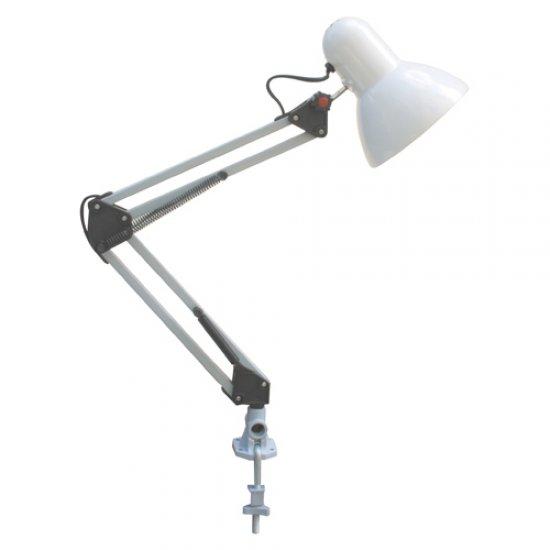 Настолна лампа чертожна Е27 max 60W бяла