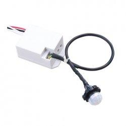 Сензор за движение 360° бял IP20 за вграждане
