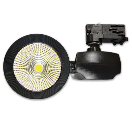 LED прожектор релсов 40W 3000К