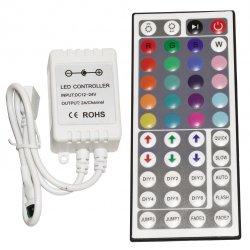 Инфрачервен контролер с дистанционно управление за RGB 44 бутона 72W