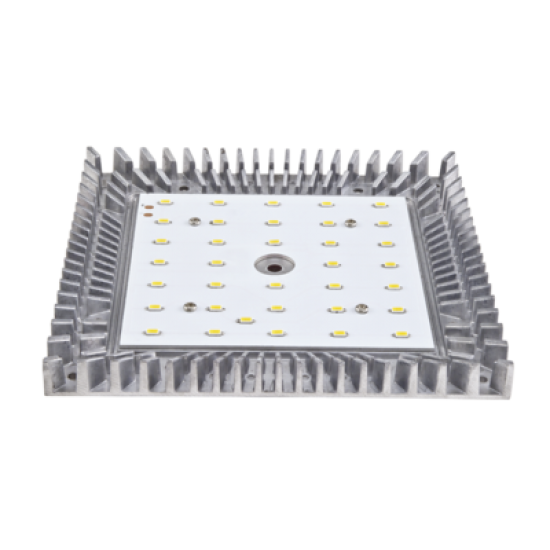 LED Плафониера BORGO2 1x24W incl. бяла