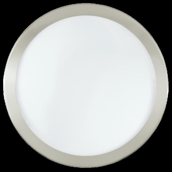 LED Плафониера Arezzo 1x24W incl. мат хром