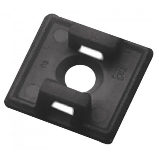 Elematic Основа за кабелна превръзка 5497E черни 100 бр
