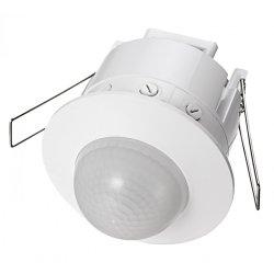 Сензор за движение 360° за вграждане  IP20 бял