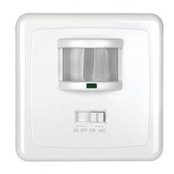 Сензор за движение 140° за стенна конзола  IP20 бял