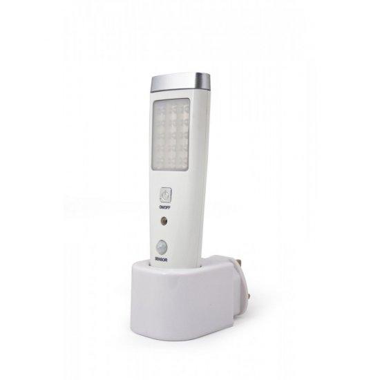 LED лампа преносима със сензор 15+5 бр.х0.06W за контакт