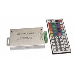 Инфрачервен контролер с дистанционно управление за RGB 44 бутона 144W
