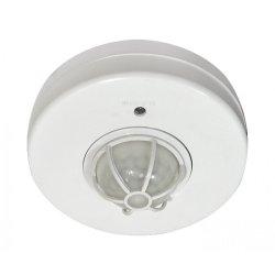 Сензор за движение 120-360°  IP44 бял