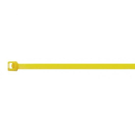 Elematic Кабелни превръзки 200/3.6 жълти 100 бр.