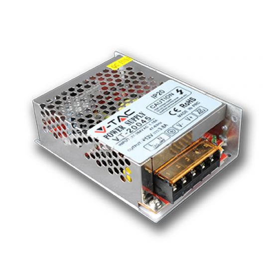 LED Захранване 45W 12V 3,8A Метал