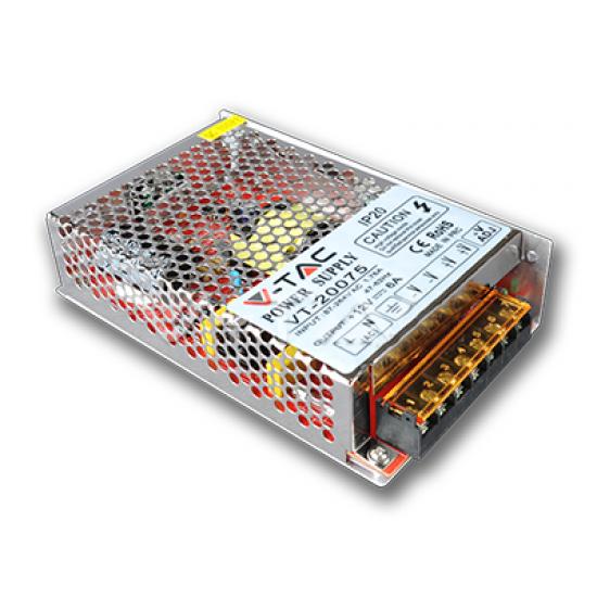 LED Захранване 75W 12V 6A Метал