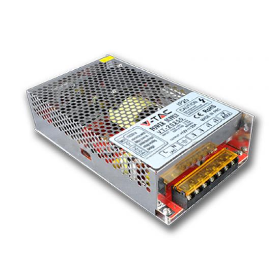 LED Захранване 250W 12V 20A Метал