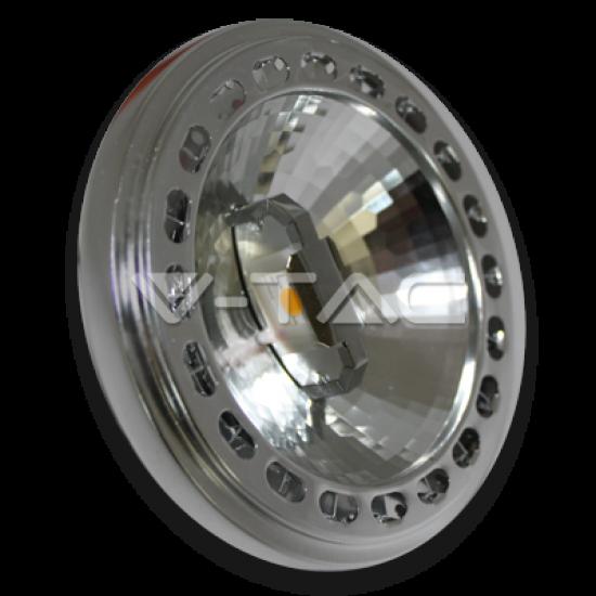 LED Крушка AR111 15W 230V 20° Студено Бяла Светлина Димираща