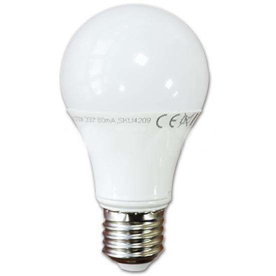 LED Крушка 9W E27 A60 Неутрална Светлина