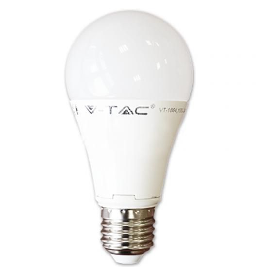 LED Крушка 12W E27 A60 2700K Термо Пластик