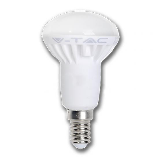 LED Крушка 6W E14 R50 Студено Бяла Светлина