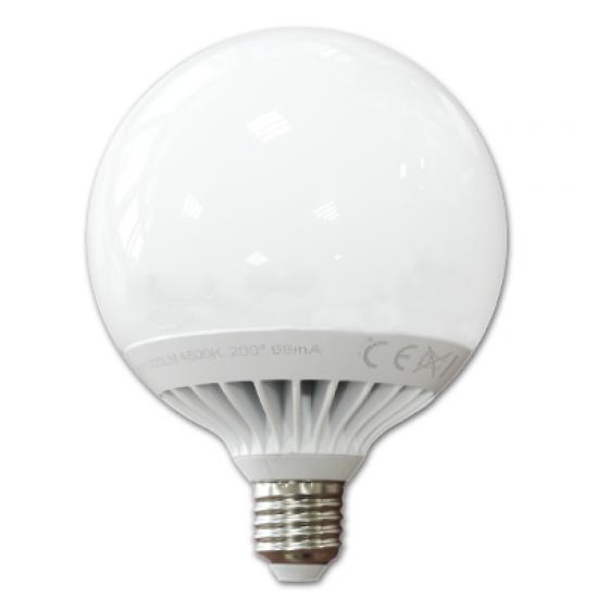 LED Крушка 13W E27 G120 Глобус Студено Бяла Светлина Димируема