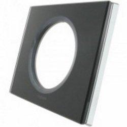 Единична рамка графитено стъкло LEGRAND
