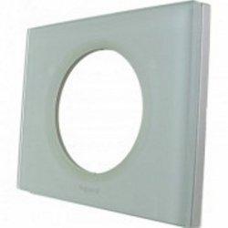 Единична рамка каолиново стъкло LEGRAND