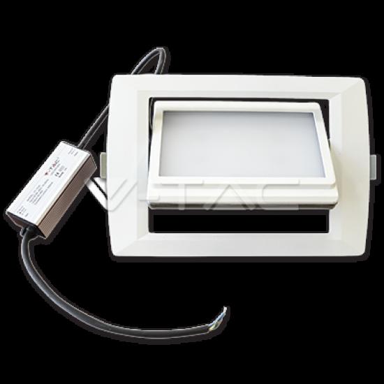 35W LED Луна COB IP66 Бяло Тяло Топло Бяла Светлина