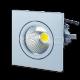 3W LED Луна COB Квадратен Модул - Бяло Тяло Бяла Светлина
