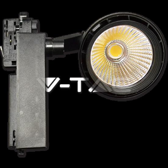LED Прожектор Релсов Монтаж 33W Черно Тяло 5000K