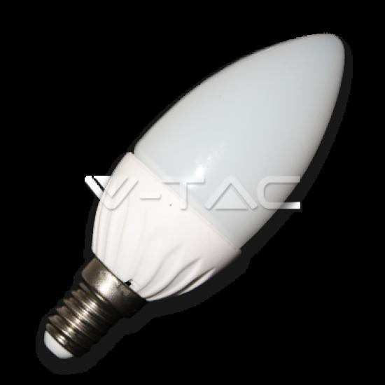 LED Крушка 4W E14 Кендъл Топло Бяла Светлина