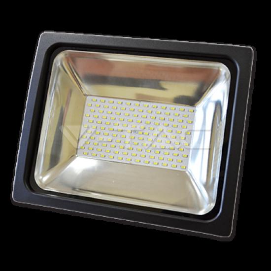 70W LED Прожектор V-TAC Класик PREMIUM SMD - Графит Топло Бяла Светлина
