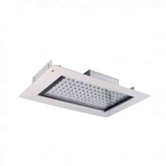 LED SMD осветител за бензиностанции Varna 80W 5000K 8000Lm IP65 530х455мм 230V