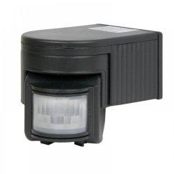 Сензор за движение 180°  IP20 черен